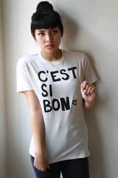 French Quote SMALL Organic T-Shirt Unisex.