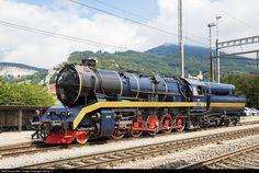 RailPictures.Net Photo: 52 8055 Untitled 52 at Oensingen, Switzerland by Georg Trüb