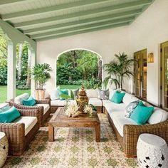 Mediterranean Terrace And Patio Decor