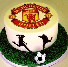 Sports Birthday Greeting – wanaabeehere 21st Bday Cake, Soccer Birthday Cakes, Sports Birthday, Soccer Ball Cake, Soccer Cakes, Manchester United Birthday Cake, Fondant Cakes, Cupcake Cakes, Karate Cake