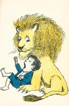 "Maurice Sendak ""I'll eat you don't you see? "" ""I don't care"""