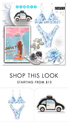 """""""zaful"""" by ilona-828 ❤ liked on Polyvore featuring Michael Kors and Kate Spade"""