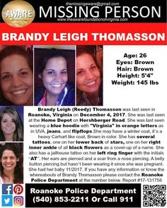 Find Missing Brandy Leigh Thomasson!