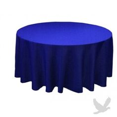 Round Table Linens - Royal Blue