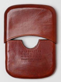 Maison Martin Margiela Two Piece Leather Card Holder