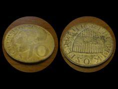 10 SCELLINI AUSTRIA ANNO 1957 - 10 SHILLINGS AUSTRIAN YEAR 1957