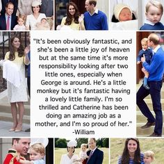 Prince William on Prince George and Princess Charlotte