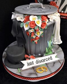 Awesome celebratory theme... divorced are said, but should be a celebration of a new beginning as well.