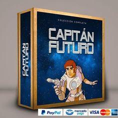 Capitán Futuro #ColeccionCompleta DVD · BluRay · Calidad garantizada. #BoxSetDeLujo Presentación exclusiva de RetroReto. Pedidos: 0414.402.7582