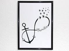 """Anchor Family,"" Infinity Love - ""Anchor Family,"" Infinity Love You are in the right place about ""Anker-Familie"" Unendlichkei - Mini Tattoos, Body Art Tattoos, Cool Tattoos For Girls, Cuadros Diy, Anker Tattoo, Best Tattoo Ever, Papier Diy, Creation Photo, Infinity Love"