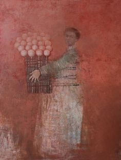 Alexey Terenin, A Figure with flowers
