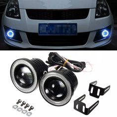 2x Universal 2.5 Inch Projector COB LED Car Fog Light Halo Angel Eyes Rings DRL White 12V Road Fog Lamp High Quality Fog Light China Car Fog Light Suppl Cheap Halo Angel Eyes Online with $60.1/Piece on Sara1688's Store | DHgate.com