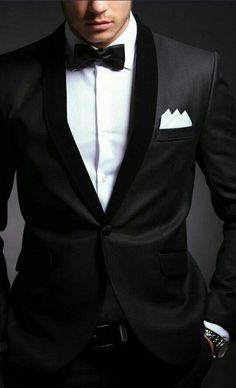 ~ Classic, handsome tux for the New Years party...