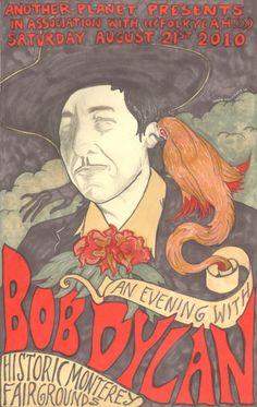 Dylan concert poster