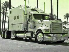 15 Pictures of Huge Truck by John Swanson Huge Truck, Big Rig Trucks, Semi Trucks, Cool Trucks, Country Music Videos, Country Songs, Custom Big Rigs, Custom Trucks, Volvo