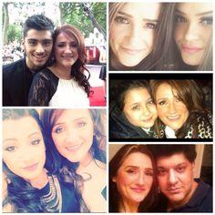 Malik family  Zayn, trisha, waliyha, yaser, doniya and safaa