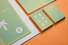 Velvet Agency - Brand Identity System by Chateau Batard, via Behance