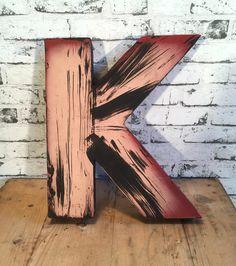 Vintage DecorativeLetter K Letters, Vintage, Letter, Vintage Comics, Lettering, Calligraphy