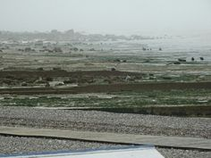 Low tide - Normandy.