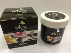 WKM silver cleaning solution from Thailand.  Great for cleaning silver jewelry.  70ml.  Priced at $12.