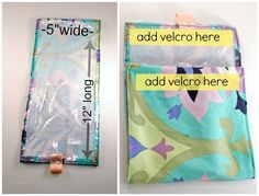 Make Me: Reusable Snack Bag- Very easy, sew only straight lines, LOW cost
