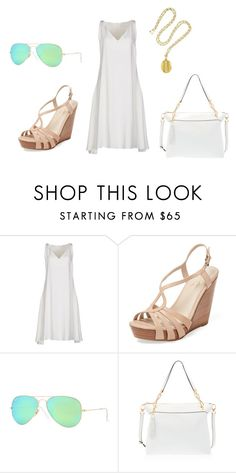 """When in Flight"" by ashley-nichole-smith on Polyvore featuring CÉLINE, Seychelles, Ray-Ban and Henri Bendel"