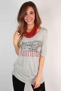 University of Arkansas Landmark Tunic. Having this would make my heart so happy!