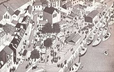 The Concise Townscape, 1961, by Gordon Cullen