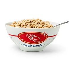 Get this Sugar Bombs Cereal Bowl for the most important meal of the day. (Or, in the Wasteland, often the only meal of the day.) It holds 14 ounces of sugary goodness, all the way down to the sludge at the end (it's the best).