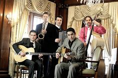 Hot Club of Detroit  2013. This music makes me smile. Love love love it!