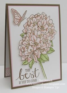 Stampin' Up! - Beautiful - Best Thoughts ....  Teri Pocock - http://teriscraftspot.blogspot.co.uk/2015/08/beautiful-best-thoughts.html