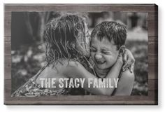 Weathered Wood Frame Horizontal Canvas Print, None, Single piece, 24 x 36 inches, Brown