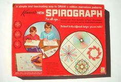 1960 toys | 1960 Vintage Toys | Spirograph Vintage 1960s ... | toys this was my favorite toy as a kid!