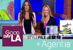 Hollywood beauty expert Kym Douglas picked Agent18 as one of her must have items for summer fitness gear on Good Day LA! #gooddayla #iphonecase #gold #brocade #tv #morning #fitness #workout #style #tech #iphone #agent18 #JillianBarberieReynolds