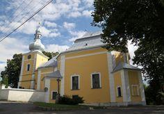 Česko, Obyčtov - Poutní kostel Navštívení P.Marie