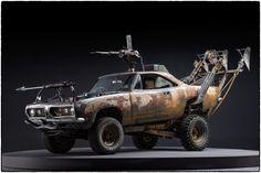 映画『マッドマックス 怒りのデス・ロード』に登場した改造車の美しく世紀末な写真集 30