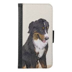 Bernese Mountain Dog Wallet Phone Case For Samsung Galaxy S6 - drawing sketch design graphic draw personalize