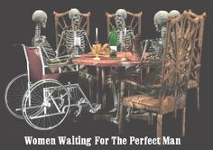 Funny Pictures, Funny jokes and so much more | Jokideo | Women waiting for the perfect man | http://www.jokideo.com