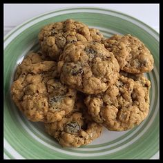 The Best Vegan & Gluten Free Oatmeal Cookies! ~ https://www.vegankitchenmagick.com/the-best-vegan-gluten-free-oatmeal-cookies/