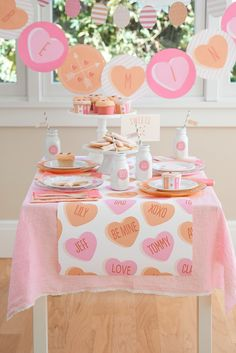 Valentines Party Ideas with Minted