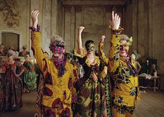 Inka Shonibare, Un Ballo in Maschera (A Masked Ball) video, 2004 African Art Museum, Time Based Art, African Artists, Galleries In London, African History, African Fabric, National Museum, Wearable Art, Contemporary Art