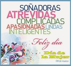 Happy Woman Day, Happy Women, Happy Day, English Quotes, Spanish Quotes, Birthday Cards, Happy Birthday, Mothers Day Quotes, Good Morning Good Night