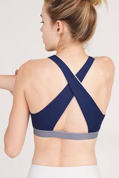 Cross-Back Bra
