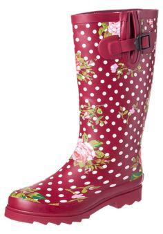 #Botas de agua para el #otoño  #fall #boots #rain #looks