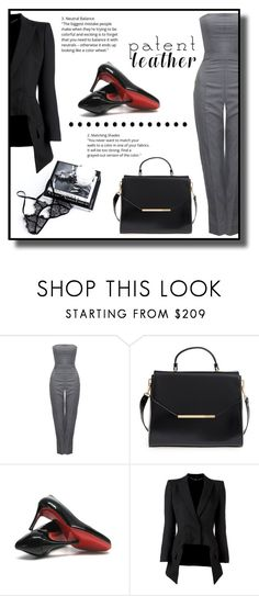 """""""Intellectual Property"""" by gracecar3 ❤ liked on Polyvore featuring Alexander McQueen, Ted Baker and Christian Louboutin"""