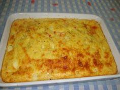 Receita Souflé cremoso de milho e queijo