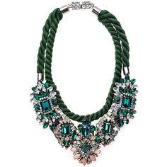 green      SHOUROUK necklace (see more shourouks)