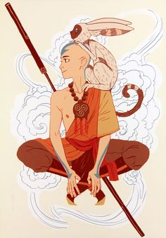 """ca-tsuka:Preview of """"The Legend of Korra / Avatar: The Last Airbender Tribute Exhibition"""" (Gallery Nucleus)"""