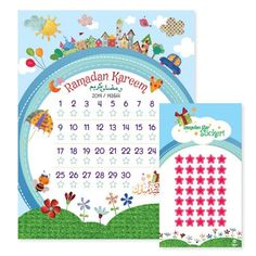 Children's Ramadan Calendar @ Sakina Design