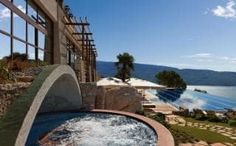 Lefay Resort & SPA Lago Di Garda in Gargnano, Lombardy, Italy - Hotel Deals Detox Retreat, Spa Breaks, Italian Lakes, Beste Hotels, Great Hotel, Lake Garda, Travel Images, Hotel Spa, Looks Cool